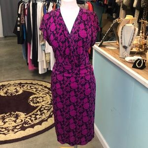 NWOT Tory Burch 100% Silk Floral Dress Size XL
